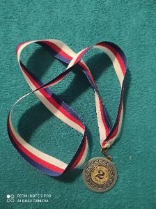 Medaile 🏅 2 místo