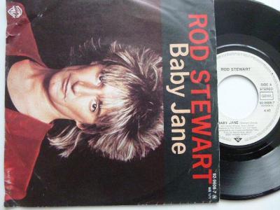 Hit SP ROD STEWART-Baby Jane / Ready Now/ WB1983 skvělý stav