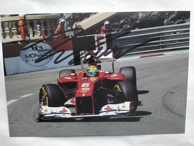 autogram podpis Massa Felipe