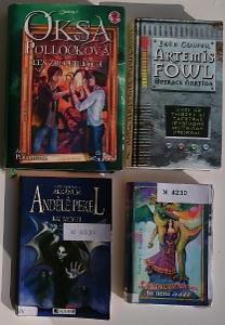 FANTASY a jiné, 4 knihy pro mládež