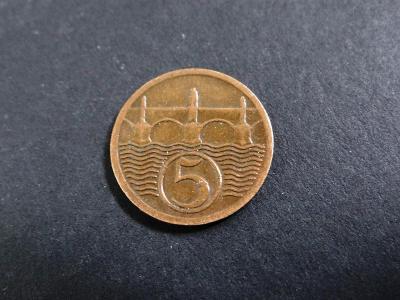 5 haléř 1927