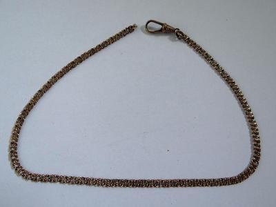 Neúplný double řetízek k cibulím, délka 35,5 cm, stáří cca 130 let.