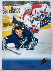 Sylvain Cote #65 Washington Capitals 1995/96 Pinnacle