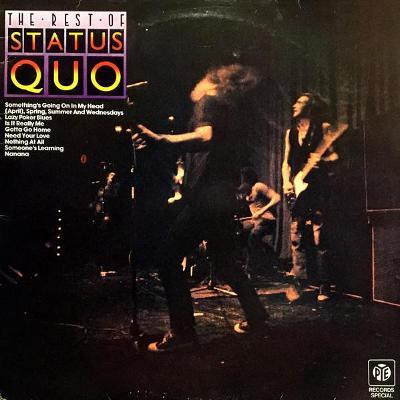 Status Quo – The Rest Of Status Quo (LP)