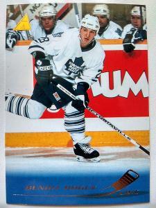 Benoit Hogue #186 Toronto Maple Leafs 1995/96 Pinnacle
