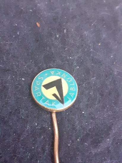 Odznak Spartak Jablůnka - Faleristika