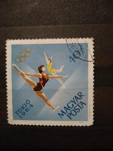 Maďarsko, gymnastika, olympijské hry Tokio 1964