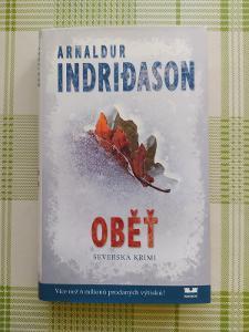 ARNALDUR INDRIDASON - OBĚŤ (MOBA)