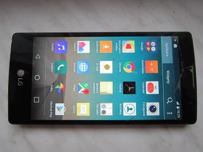 Smartphone LG Spirit H-440n 4G/Prasklé sklíčko ale vše funkční + nab.