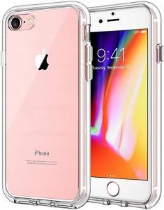 Silikonové pouzdro TPU 2mm zadní kryt transparentní obal pro iPhone 7