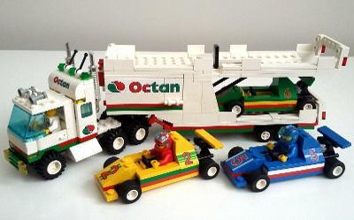 Lego 6335 City/System, Kamion s formulemi z 90 let