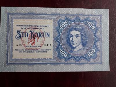 100 krun bankovka Gábriš Moravany nad Váhom 2019