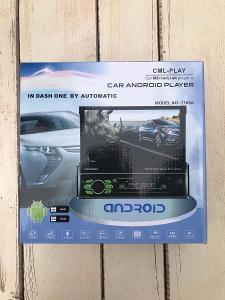 Výklopní 2DIN rádio Android 2GB RAM+16 GB ROM, GPS navigace, CZ jazyk
