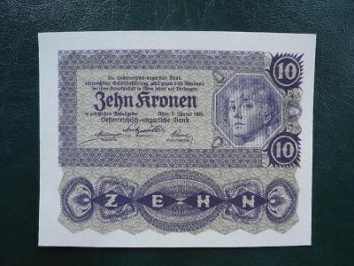 10 Kronen 1922 UNC