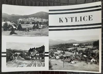 Děčín Kytlice různé pohledy na části obce