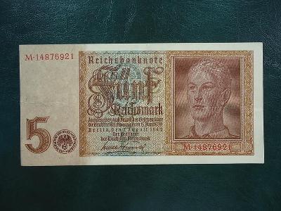 5 Reichsmark  1942 Moc Hezka