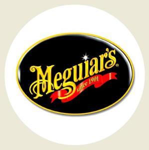 Logo ve stylu Meguiars , čirá samolepka pr.4-(1x).