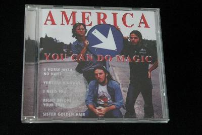 CD - America - You Can Do Magic