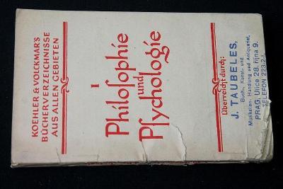 Philosophie & Psychologie / Koehler & Volckmar  (o7)