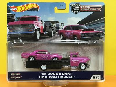 '68 Dodge Dart + Horizon Hauler - Hot Wheels - Team Transport #25