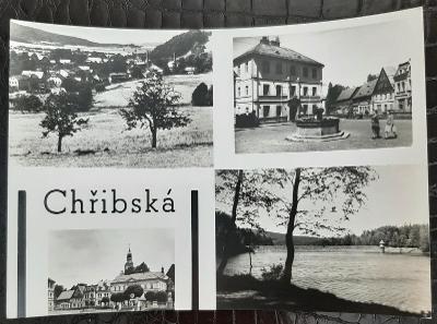 Děčín Chřibská různé pohledy na části města