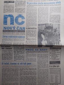 Nový Čas 28.2.1990 kompletní vydání
