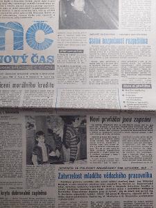 Nový Čas 7.2.1990 kompletní vydání