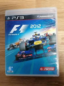 PS3 - F1 2012 == SONY Playstation 3  fomule 1