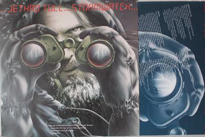 Jethro Tull – Stormwatch LP 1979 vinyl Germany 1.press jako nove NM