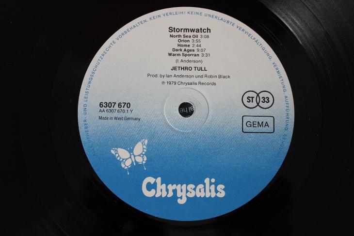 Jethro Tull – Stormwatch LP 1979 vinyl Germany 1.press jako nove NM - Hudba