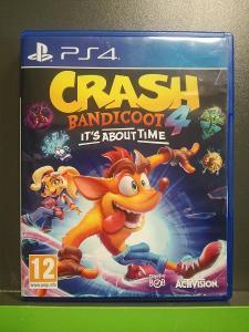 Crash Bandicoot 4: It's About Time (PS4) - jako nová