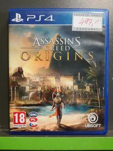 Assassins Creed Origins CZ (PS4) - kompletní, jako nová