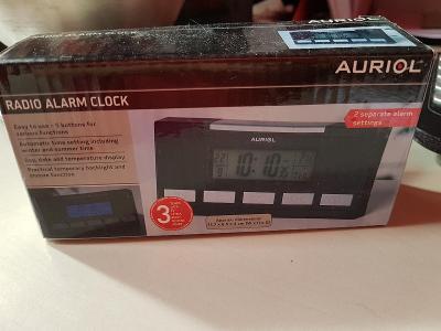 Auriol digitální budík