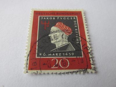 Známky BRD 1959, Jakob Fugger, 500 let od narození