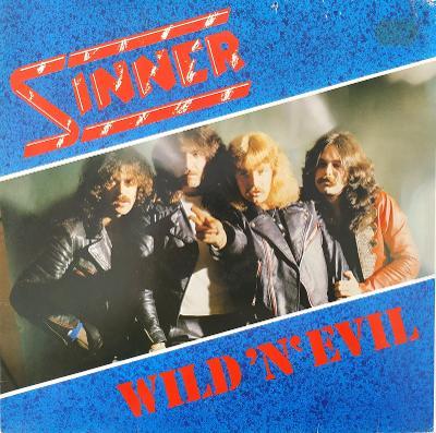 SINNER - Wild ´N´ Evil LP