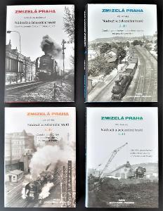 Nádraží a železniční tratě - Zmizelá Praha (4 díly)