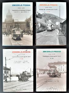 Tramvaje a tramvajové tratě - Zmizelá Praha (4 díly)