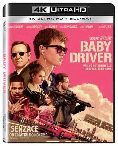Baby Driver (4K Ultra HD) - UHD Blu-ray + Blu-ray (2 BD)