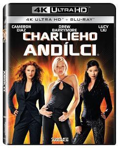 Charlieho andílci (4K Ultra HD) - UHD Blu-ray + Blu-ray (2 BD)