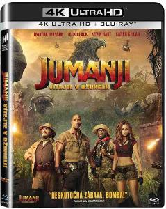 Jumanji: Vítejte v džungli! - 4K UHD Blu-ray + Blu-ray (2 BD) SK obal