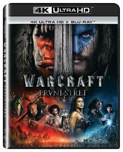Warcraft: První střet (4K Ultra HD) - UHD Blu-ray + Blu-ray (2 BD)