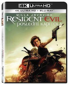 Resident Evil: Poslední kapitola (4K Ultra HD) - UHD Blu-ray + Blu-ray