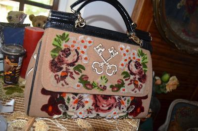 !!! Luxusní nádherná kabelka mimořádná !!!