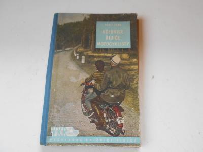 Stará kniha - učebnice řidiče motocyklisty
