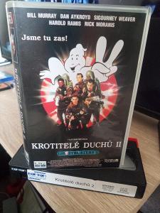 VHS Krotitelé Duchů II. (1989)