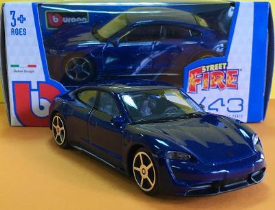 Porsche Taycan Turbo S - Bburago 1/43 (H19-10)