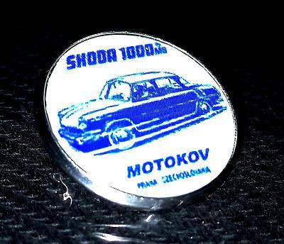 ŠKODA 1000MB MOTOKOV Czechoslovakia modrá, dle foto.