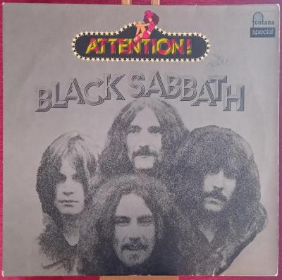 Black Sabbath – Attention! Black Sabbath! (LP Germany)