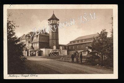 Karlovy Vary H4847 Krušné Hory Klínovec Rozhledna Živý Záběr r. 1933