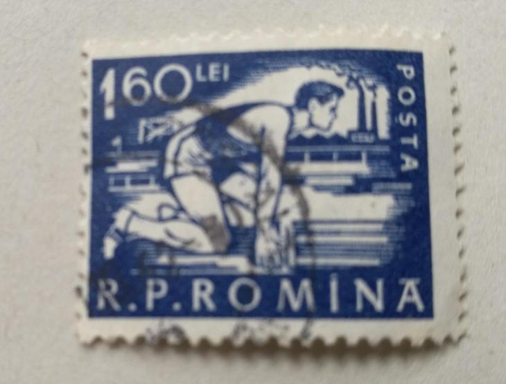 Známka - Rumunsko - Filatelie
